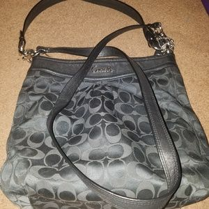 Coach Signature C Logo Purse